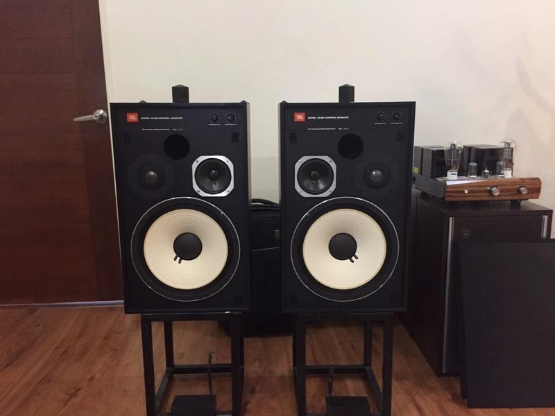 jbl 4312b control monitor speaker used sold. Black Bedroom Furniture Sets. Home Design Ideas