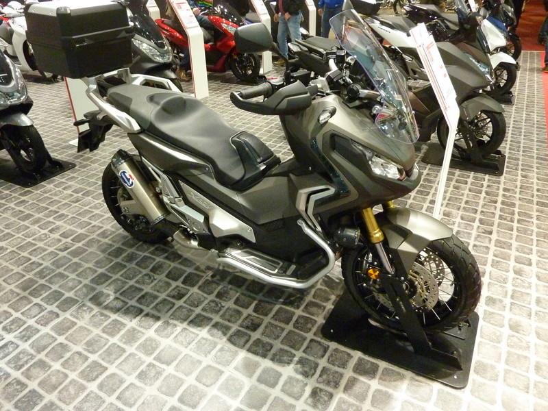 Integra X-ADV un Scoot- Trail Honda très attachant - Page 5 P1030175