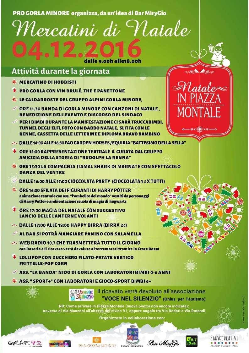 mercatino - Mercatino di Natale in Piazza Montale  - Gorla Minore Locand10