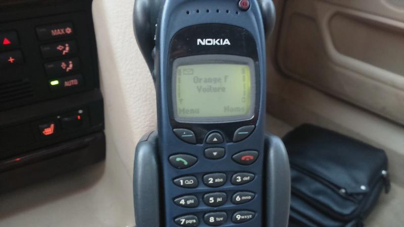 Les différents modèles de téléphones montés dans nos 7 16110