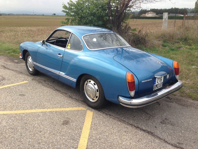 Karmann Ghia 1973 Alaska blue metallic !!! Ejqp5810