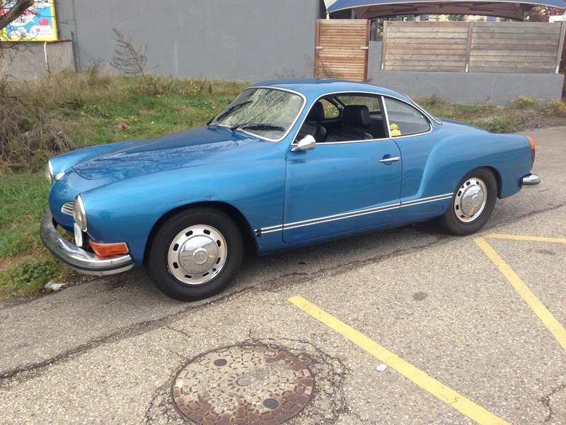 Karmann Ghia 1973 Alaska blue metallic !!! Gddi4410