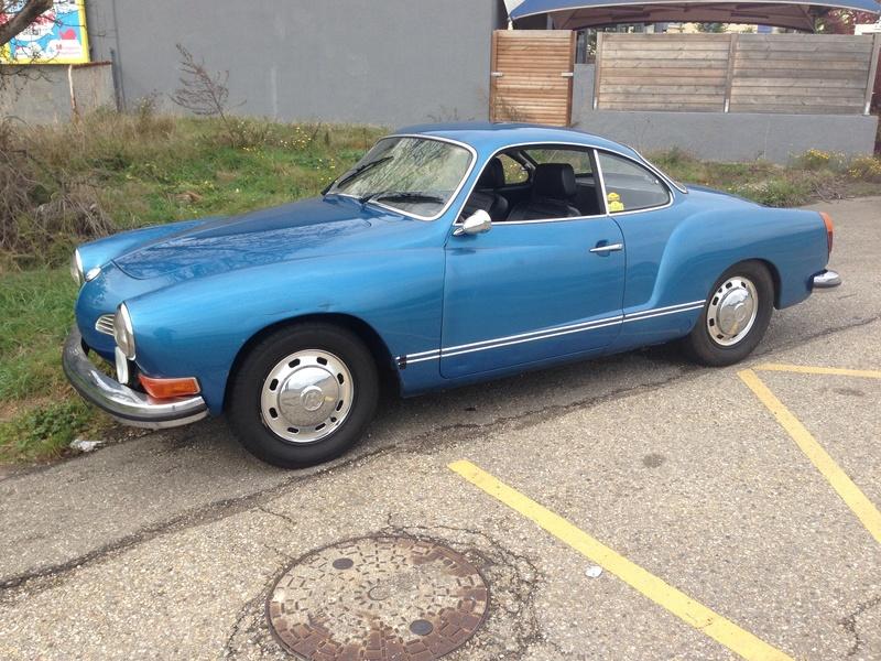 Karmann Ghia 1973 Alaska blue metallic !!! Gddi4410