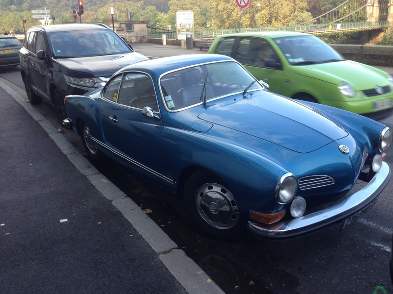 Karmann Ghia 1973 Alaska blue metallic !!! Img_4123