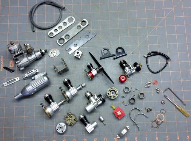 Engine Collection and Miscellaneous Parts  20161010