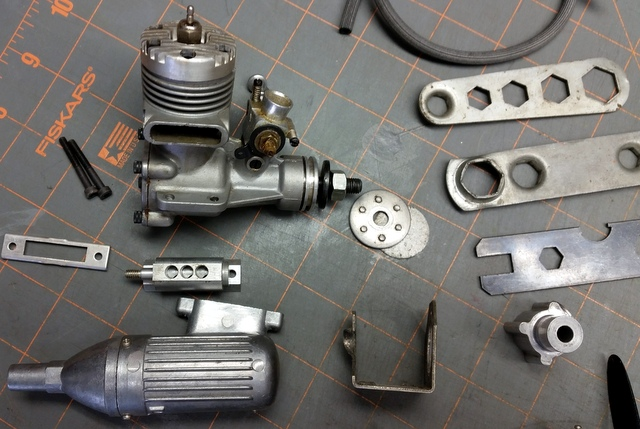 Engine Collection and Miscellaneous Parts  20161012
