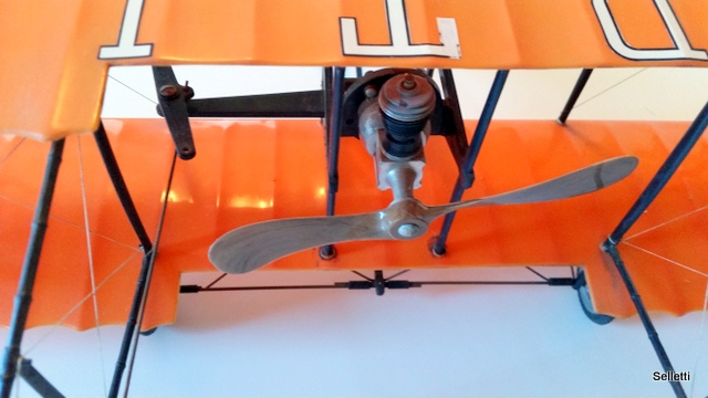 1960's Cox Thimble Drome 1911 Curtiss Pusher Gas Airplane 20161117