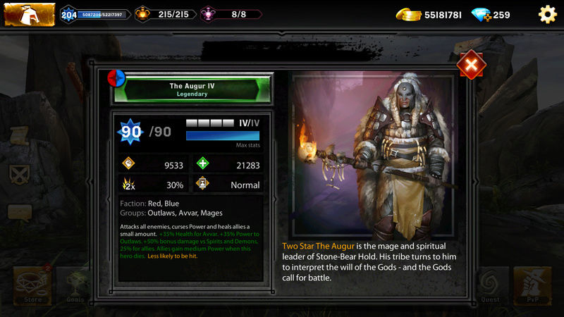 Upcoming new heroes and gear for the week of Nov 10th-17th Screen10