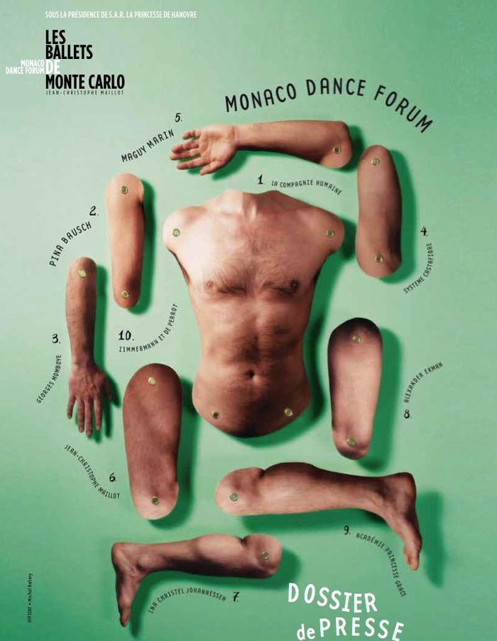 Publicités des festivals de danse Affich16