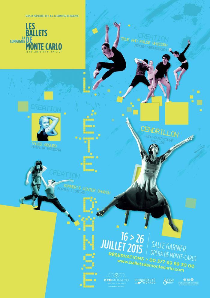 Publicités des festivals de danse Affich17