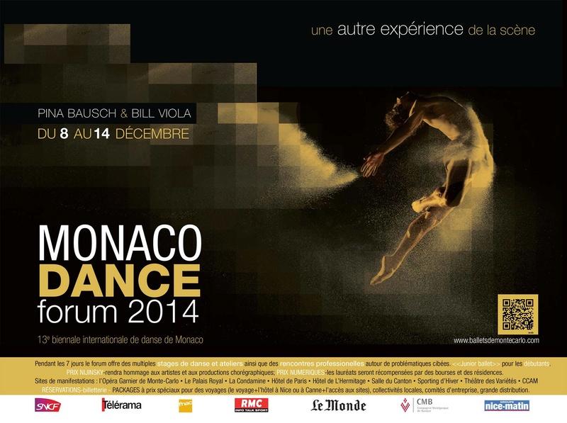 Publicités des festivals de danse Mdf10