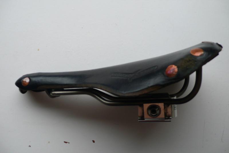 Selle Brooks Swift B360 Titanium avec chariot de selle Pentaclip (à vendre) Selle_11