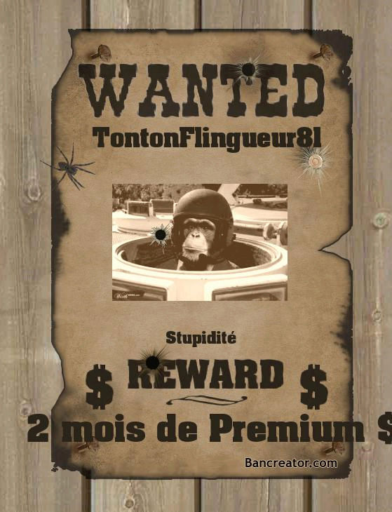 WANTED Tonton10