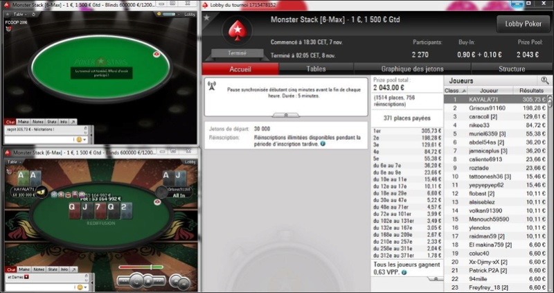 Win sur le Monster Stack 1€ -07 Novembre 2016 Captur14