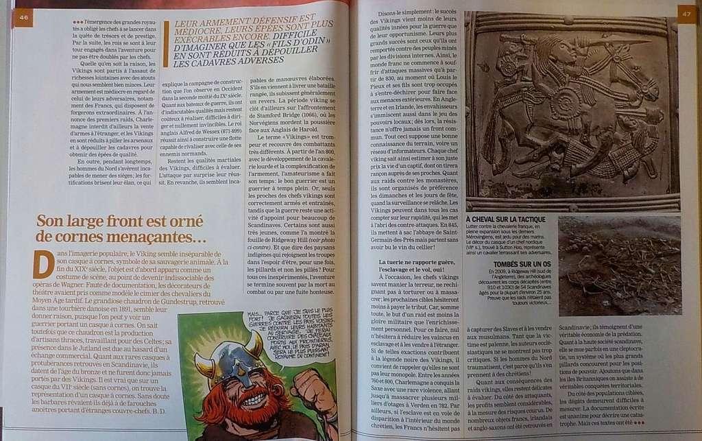 Revue Historia H-S : THORGAL et les Vikings Dscn2513
