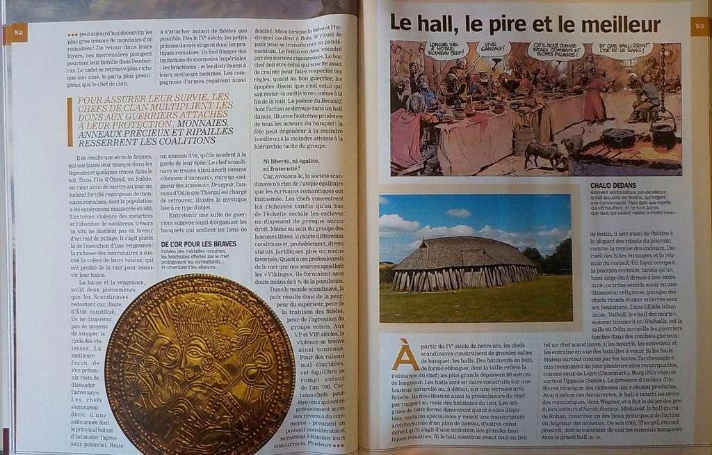 Revue Historia H-S : THORGAL et les Vikings Dscn2514