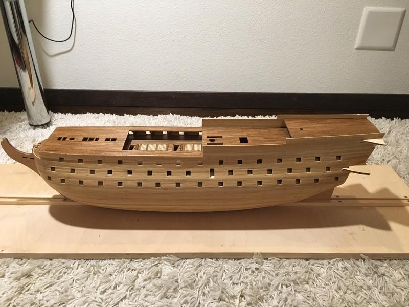 Baubericht HMS Victory 1:98 von Mantua Foto_110