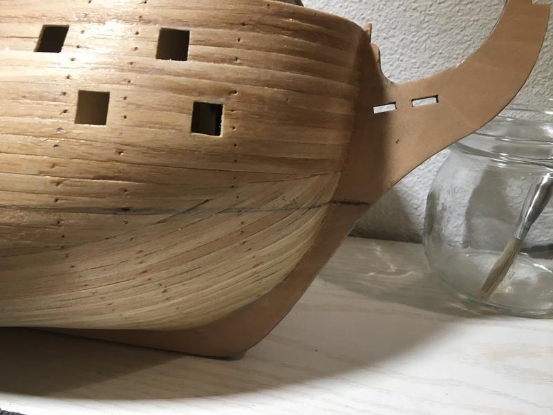Baubericht HMS Victory 1:98 von Mantua Foto_710