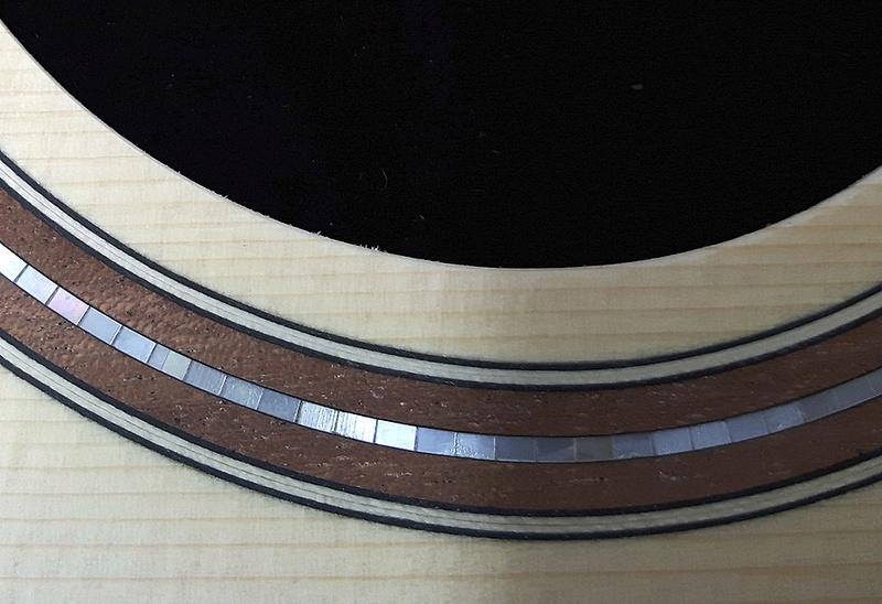 Guitare Chatelier - épicéa italien et african blackwood Rose_n10
