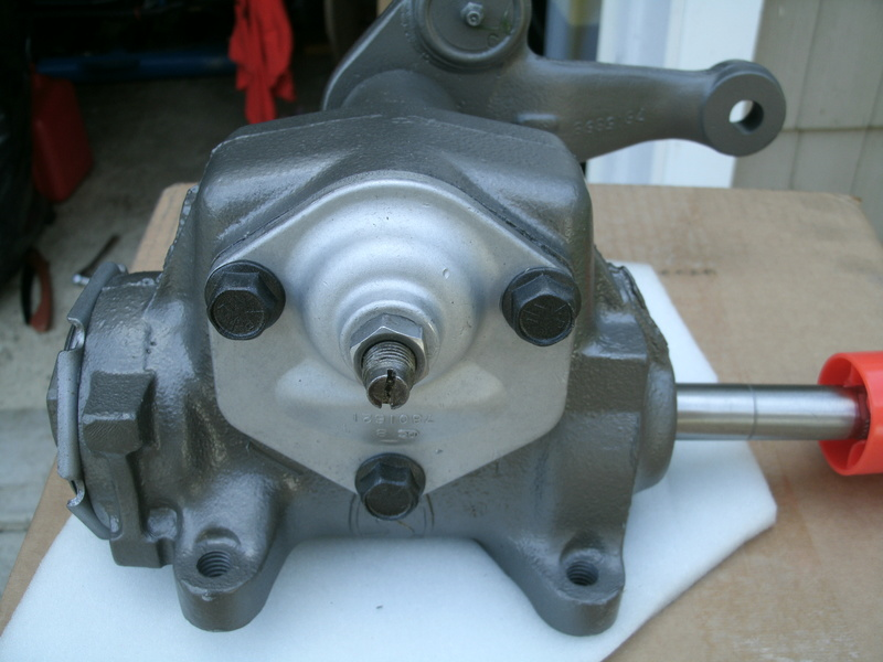Manual steering pitman arm for a 1973 Chevelle Steeri12