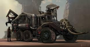 Hitgirl et son poids lourd (indisponible) Truck110