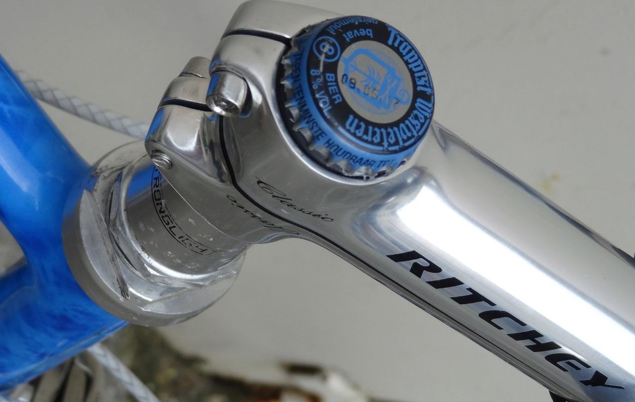 """Vélo de route """"Hébrard"""" Columbus SLX Tuning10"""
