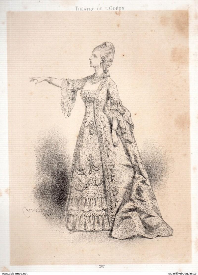 beautés vintage costumées en marie antoinette 954_0010