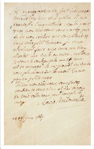 Vente de Souvenirs Historiques - aux enchères plusieurs reliques de la Reine Marie-Antoinette - Page 4 Tylych10