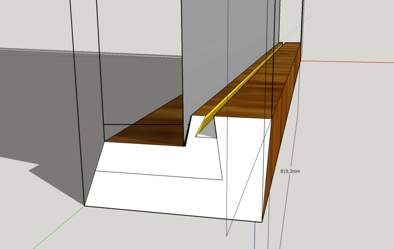 Conseil fabrication cadre miroir éclairé Captur12