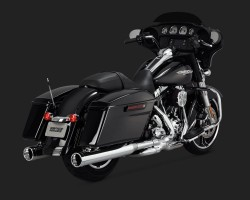 Silencieux Monster round ou vance & hines oversized 450  Img_1513