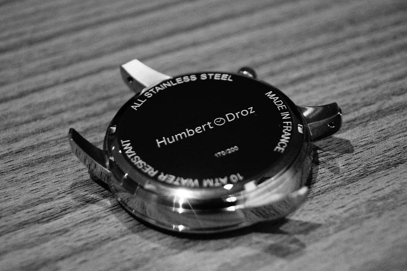 Humbert Droz Nouvelle marque Française avec ses 4 générations d'horlogers  Dsc02511