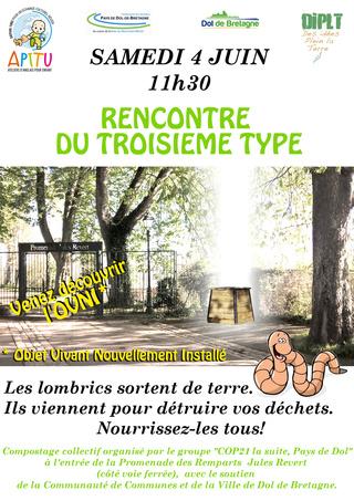 Affiche compostage collectif et actions menée Affich22