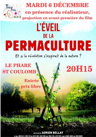 """le film """"L'éveil de la permaculture"""" en avant-première Affich25"""