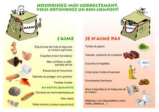 Affiche compostage collectif et actions menée J_aime11