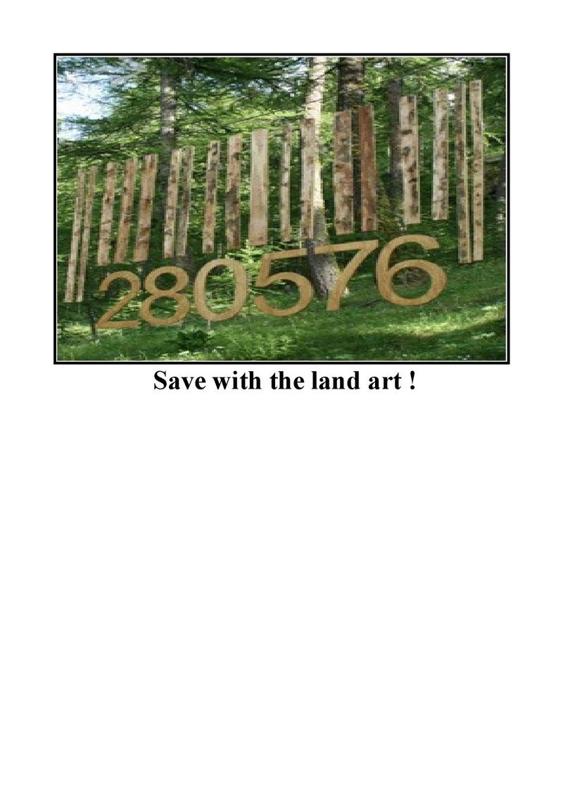 Save with the land art ! Landar10