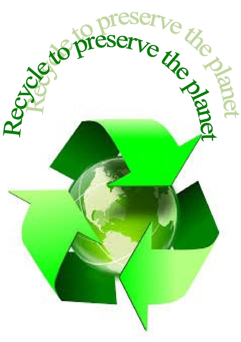 Recycle to preserve the planet Poster10