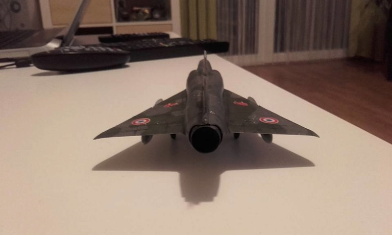 ( Heller) Mirage III au 1/72 .....en cours - Page 4 110