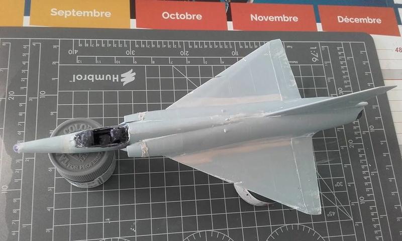 ( Heller) Mirage III au 1/72 .....en cours 14993310