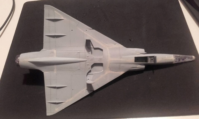 ( Heller) Mirage III au 1/72 .....en cours 15027910