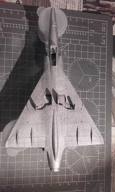 ( Heller) Mirage III au 1/72 .....en cours 15094411