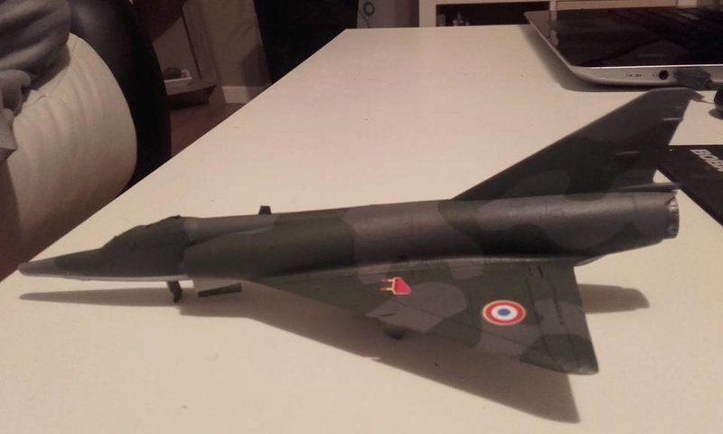 ( Heller) Mirage III au 1/72 .....en cours - Page 3 15672510