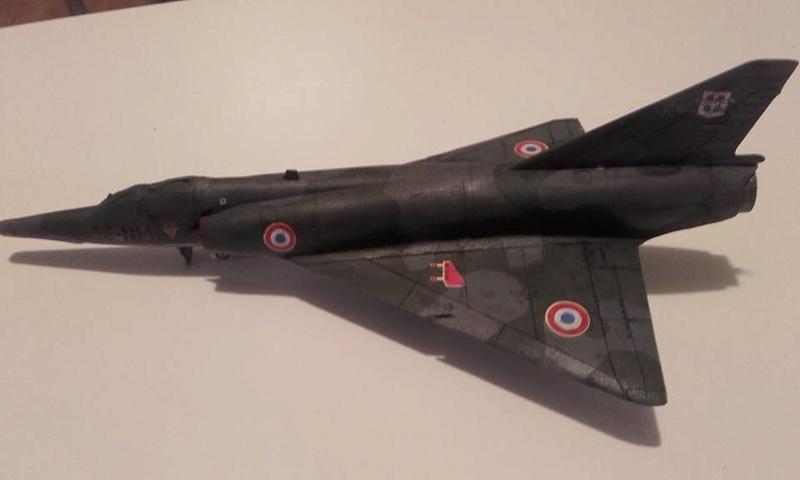 ( Heller) Mirage III au 1/72 .....en cours - Page 3 15726910