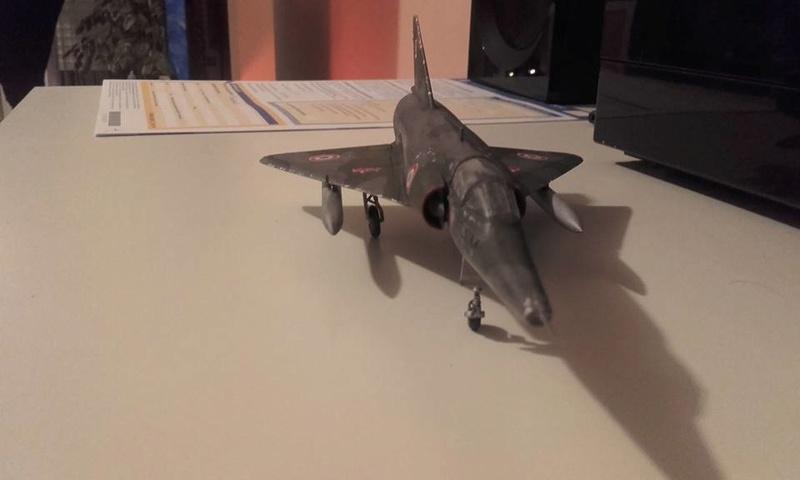 ( Heller) Mirage III au 1/72 .....en cours - Page 4 16142410