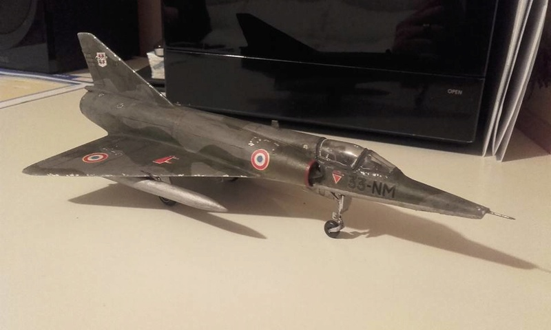 ( Heller) Mirage III au 1/72 .....en cours - Page 4 16195210