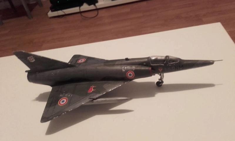 ( Heller) Mirage III au 1/72 .....en cours - Page 4 210
