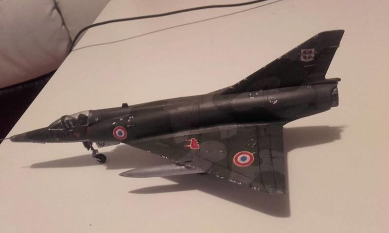 ( Heller) Mirage III au 1/72 .....en cours - Page 4 310