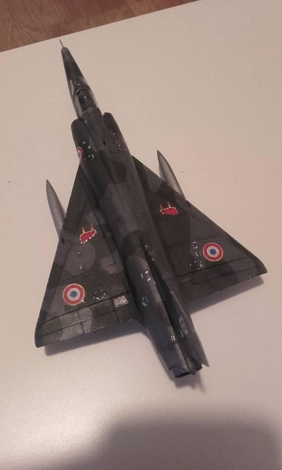 ( Heller) Mirage III au 1/72 .....en cours - Page 4 410