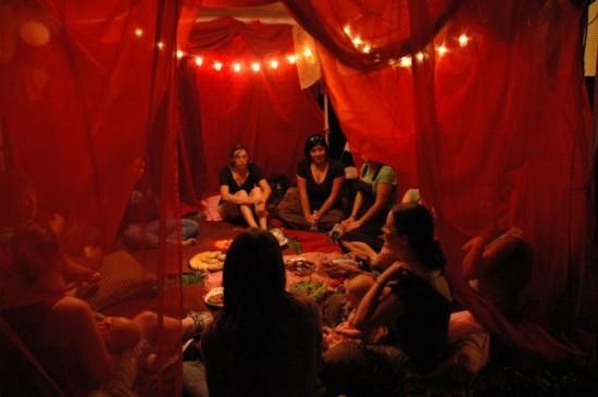 La tente rouge Redten12