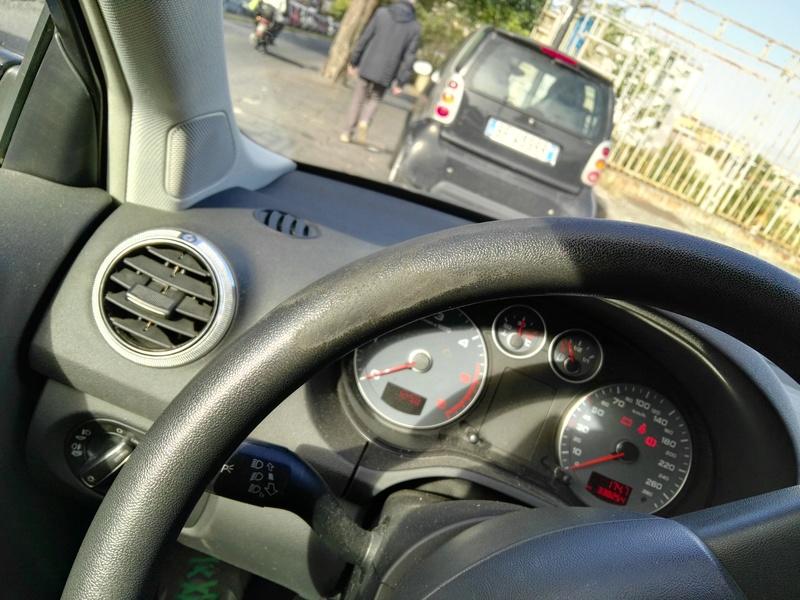 Help volante Audi A3 consumato 2016-110