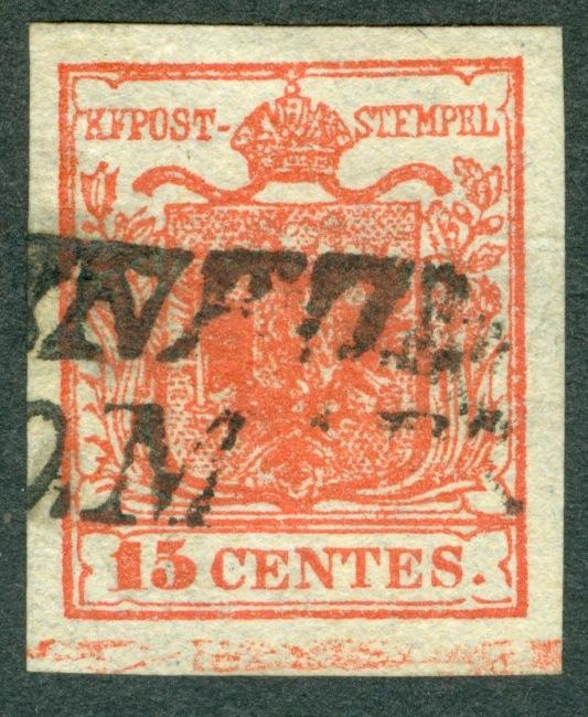 Briefmarken - Lombardei - Venetien 1850 - 1858 - Seite 4 1850_110